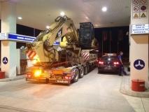 Transport CAT radne mašine