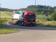Transport bušilice za Intradrill GmbH Germany