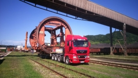 Transport of rotator in TE Tuzla